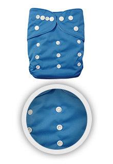 Windeln-Stoffwindel-blau