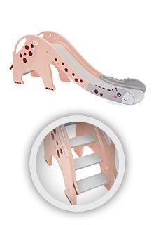 Rutsche-Giraffe-in-Pink