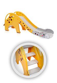 Rutsche-Giraffe-in-gelb